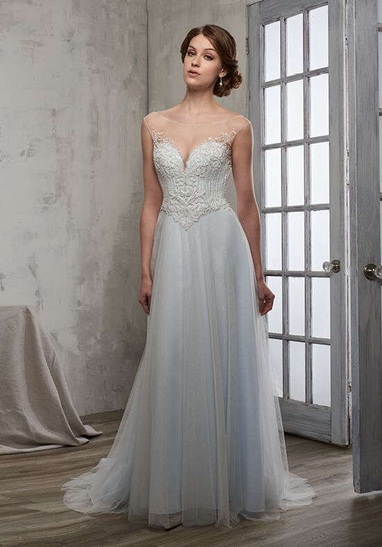 1 Wedding by Mary's Bridal 6608 A-Line Wedding Dress
