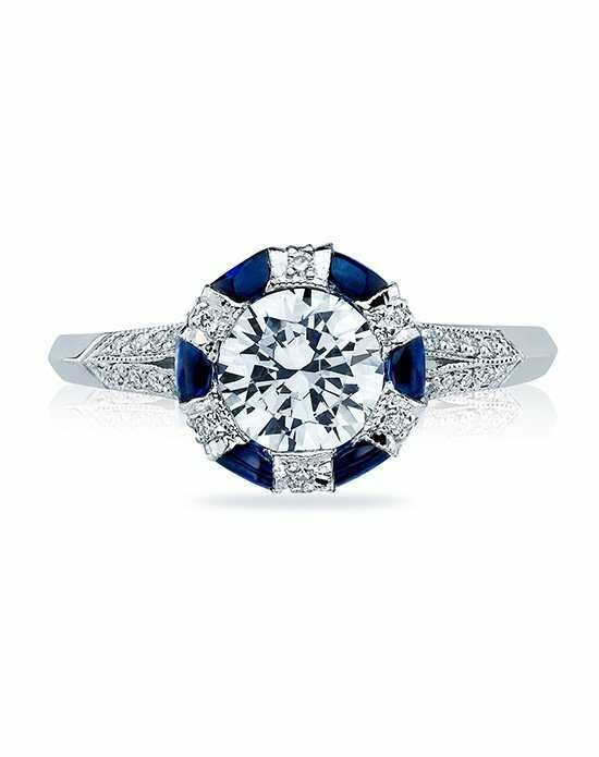 Tacori Round Cut Engagement Ring