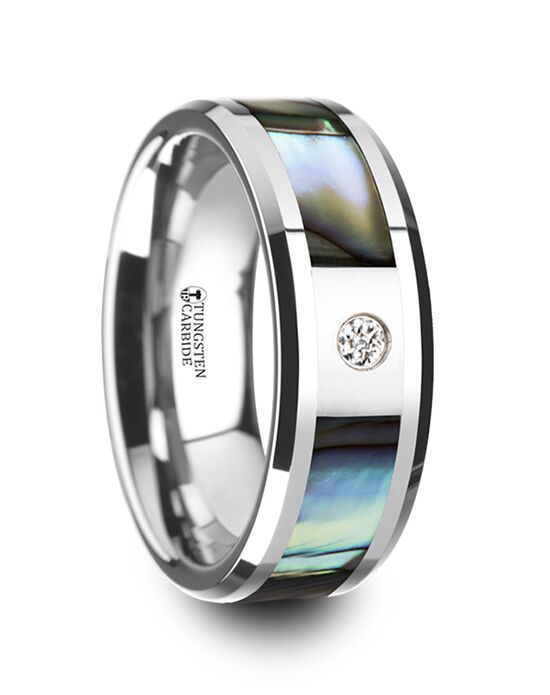 Mens Tungsten Wedding Bands W4276-MOPI Tungsten Wedding Ring