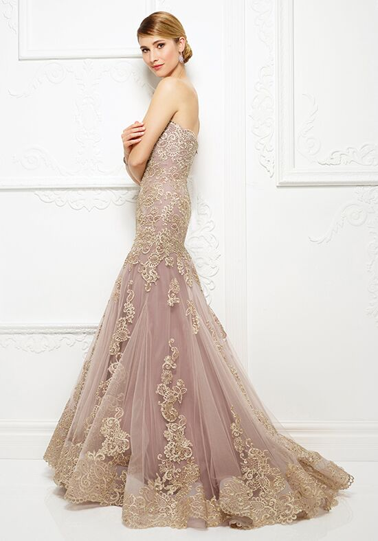 Ivonne D. 217D89 Champagne Mother Of The Bride Dress