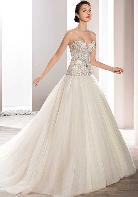 Demetrios 726 Ball Gown Wedding Dress