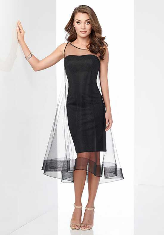 Social Occasions by Mon Cheri 218802 Black Mother Of The Bride Dress