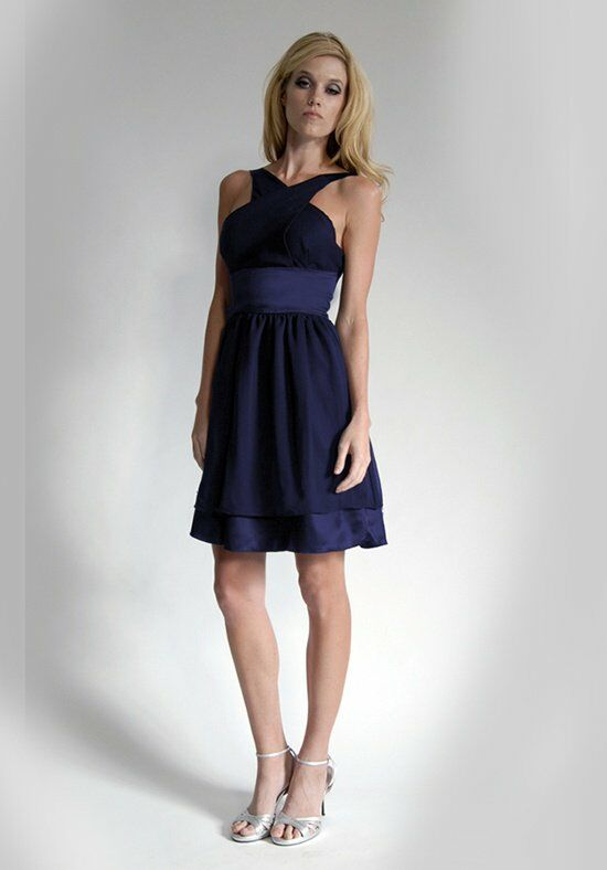Elizabeth St. John Social Sophia Halter Bridesmaid Dress