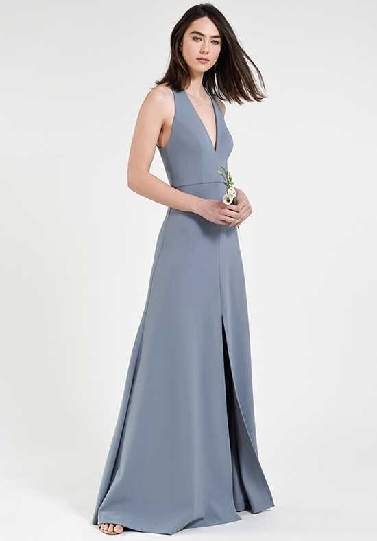 Jenny Yoo Collection (Maids) Margot V-Neck Bridesmaid Dress