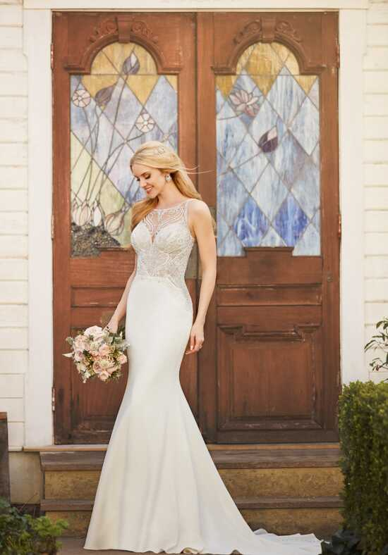 Martina Liana 875 Sheath Wedding Dress