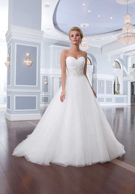 Lillian West 6303 Ball Gown Wedding Dress