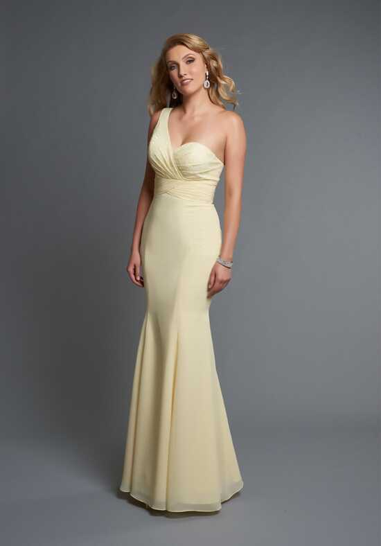 Wedding by Mary's Modern Maids M1830 One Shoulder Bridesmaid Dress