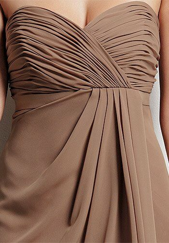 Jordan 367 Strapless Bridesmaid Dress
