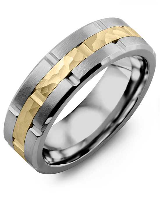 MADANI Rings MIF710GY Gold, Rose Gold, White Gold, Tungsten Wedding Ring