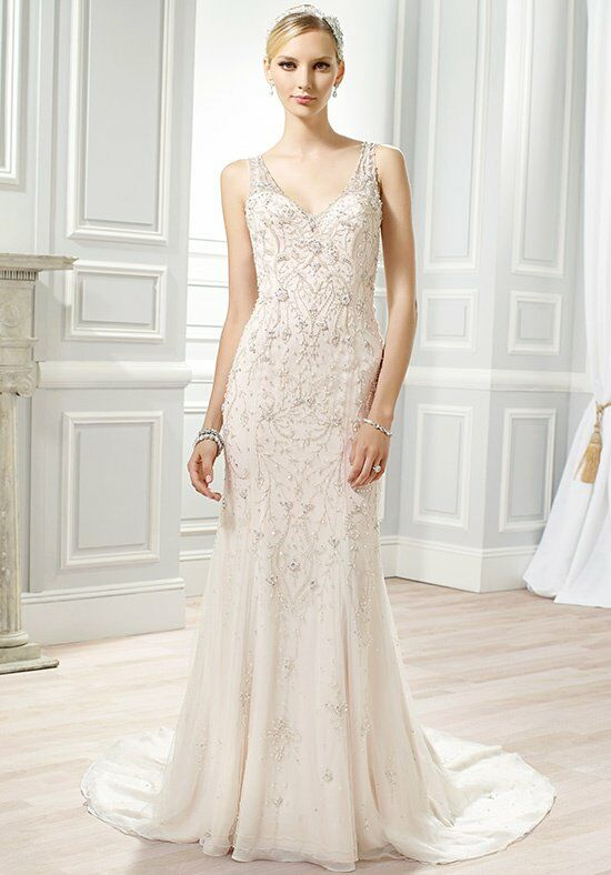 Moonlight Couture H1273 Sheath Wedding Dress