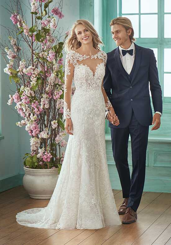 Jasmine Collection F201018 Mermaid Wedding Dress