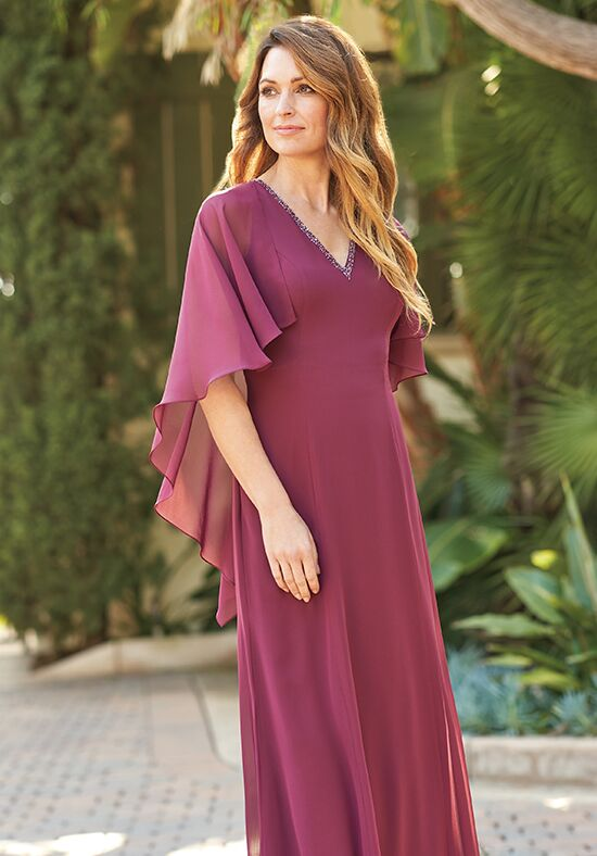 Jade J205052 Purple Mother Of The Bride Dress