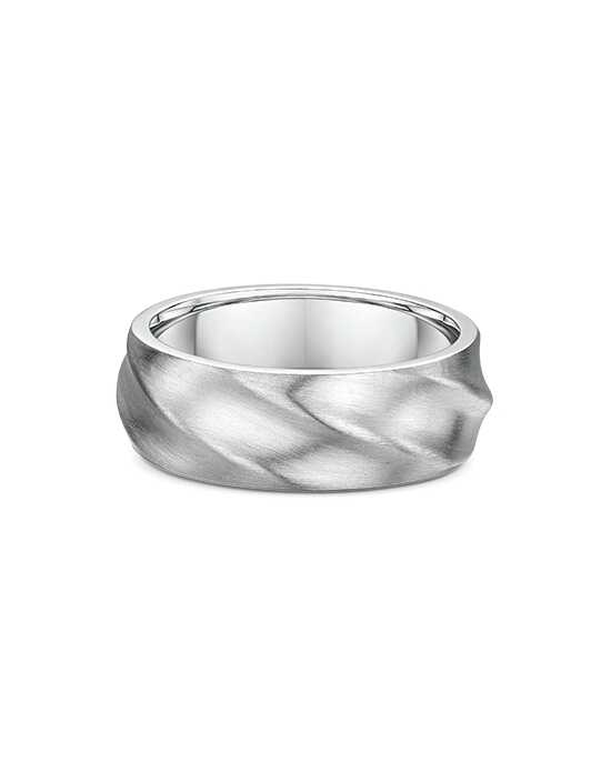 "Say ""I do!"" in Platinum Dora International Men's Wedding Band-785A01G Platinum Wedding Ring"