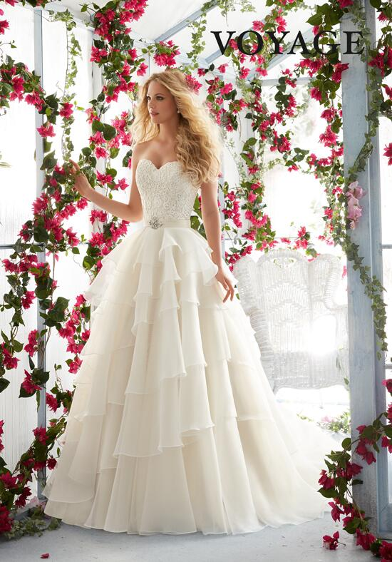 Voyage by Madeline Gardner 6817 Wedding Dress photo
