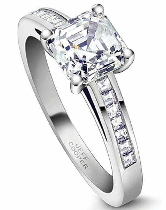 Since1910 Classic Asscher Cut Engagement Ring