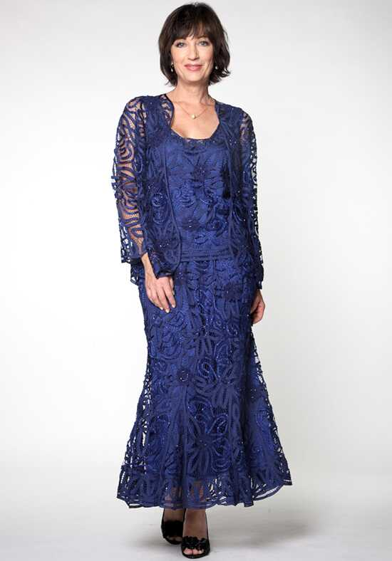 LuxeLace by Soulmates D9122 Blue Mother Of The Bride Dress