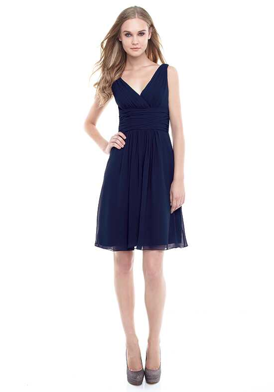 Bill Levkoff 154 V-Neck Bridesmaid Dress