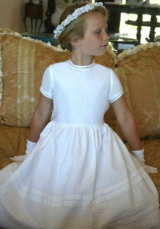 Isabel Garretón Cambridge White Flower Girl Dress