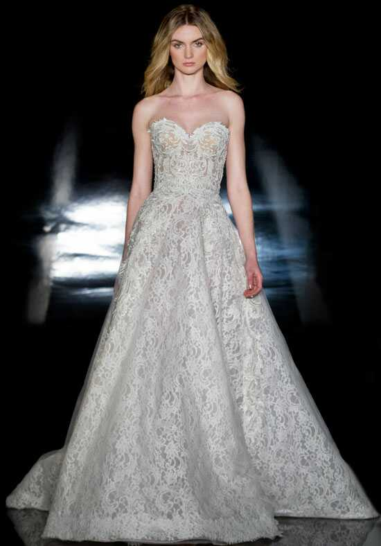 Reem Acra Leonora Ball Gown Wedding Dress