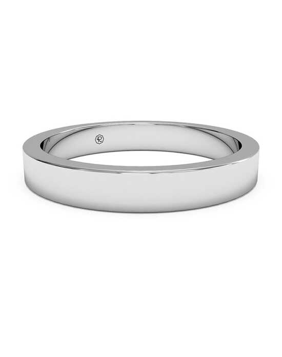 Ritani Women's Classic Square-Edge Wedding Band - in 14kt White Gold White Gold Wedding Ring