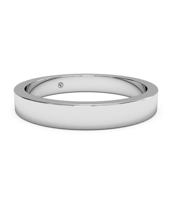Ritani Women's Classic Square-Edge Wedding Band - in 14kt White Gold Wedding Ring photo