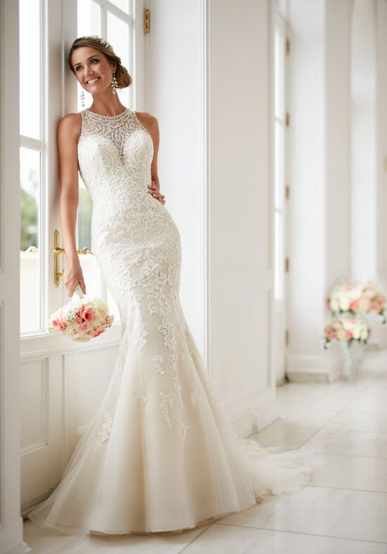 Stella York 6435 Sheath Wedding Dress