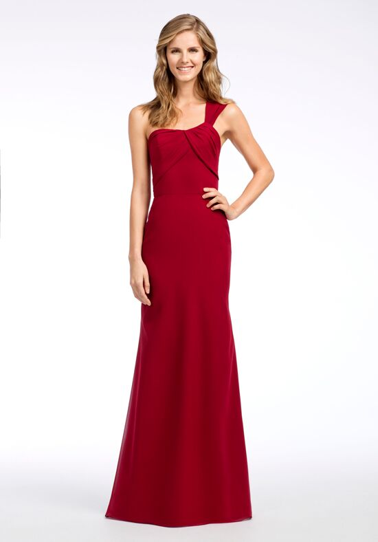 Hayley Paige Occasions 5661 One Shoulder Bridesmaid Dress
