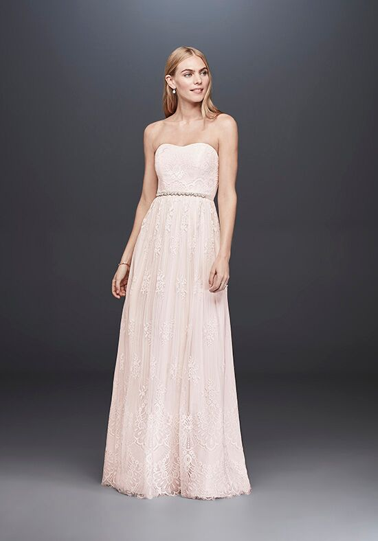David's Bridal SDWG0622 Sheath Wedding Dress