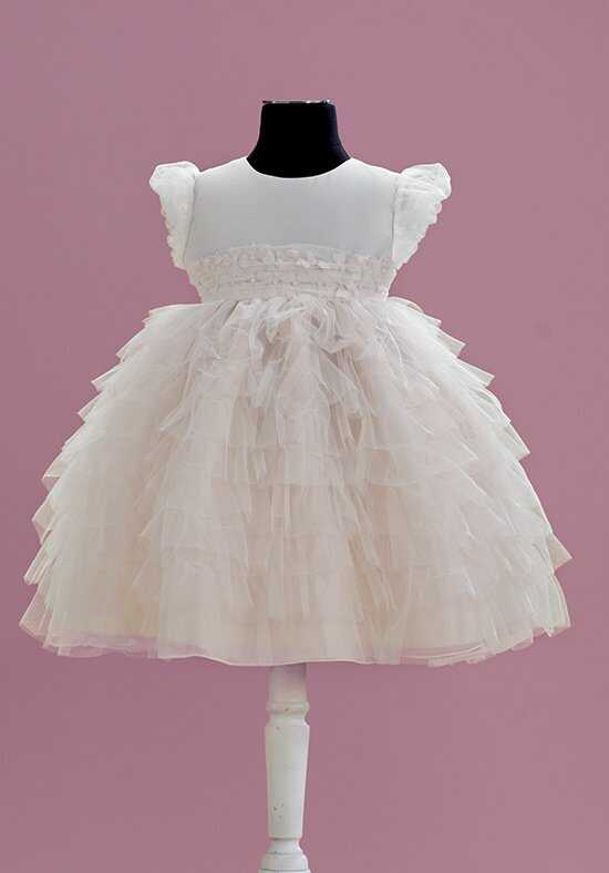 Joan Calabrese by Mon Cheri 215354B Pink Flower Girl Dress