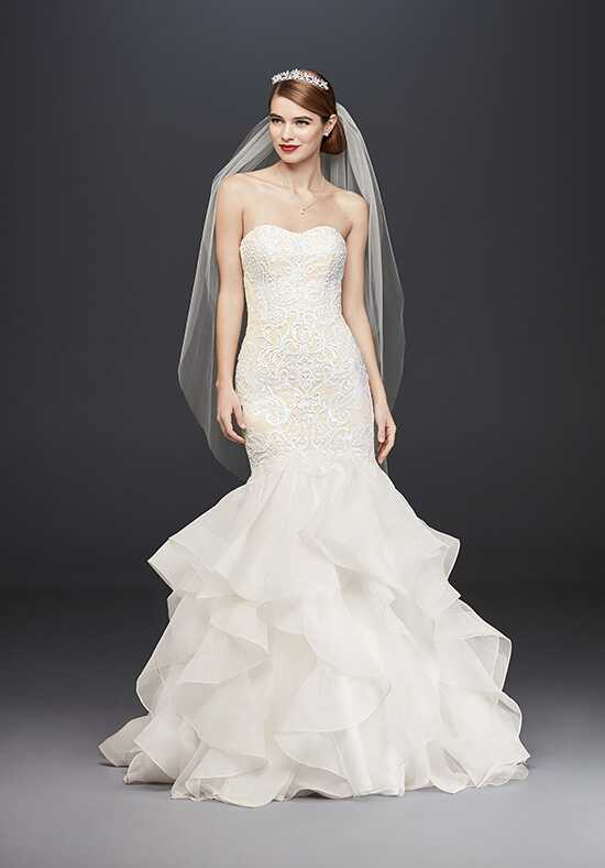 Oleg Cassini at David's Bridal Oleg Cassini Style CWG769 Mermaid Wedding Dress