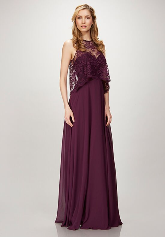 THEIA Bridesmaids Rhianna Halter Bridesmaid Dress