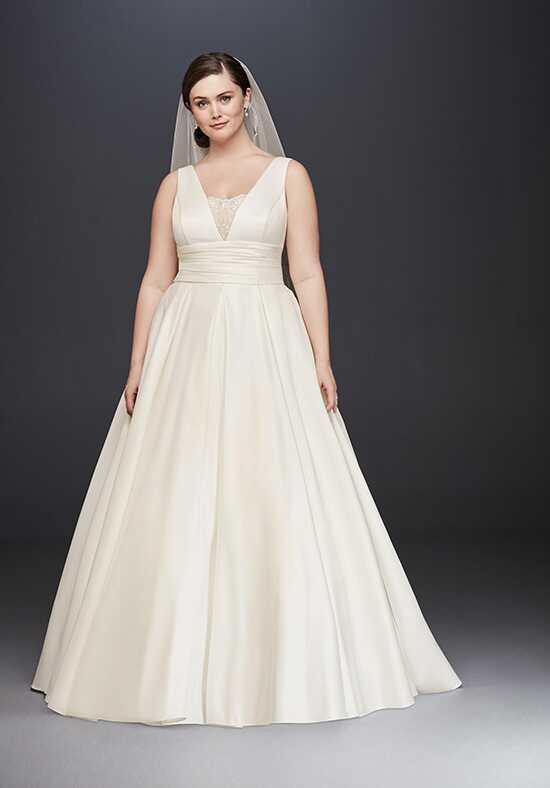 David's Bridal David's Bridal Collection Style 9V3848 Ball Gown Wedding Dress