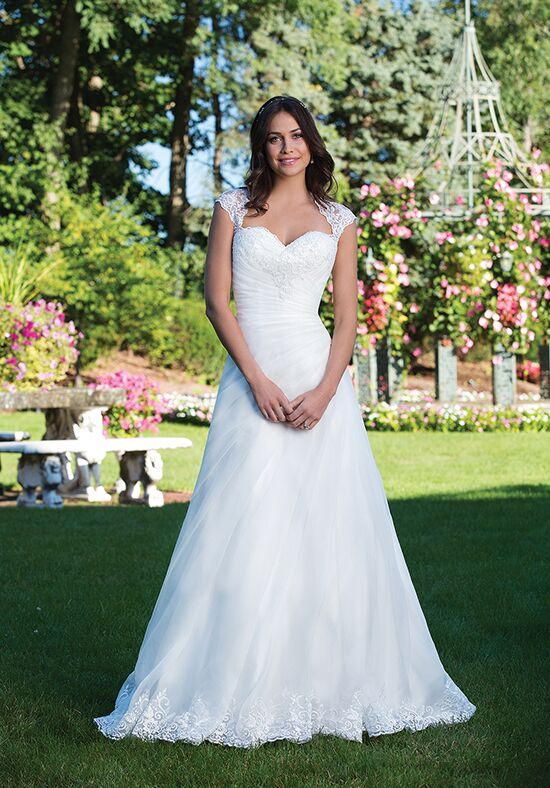Sincerity Bridal 3931 A-Line Wedding Dress