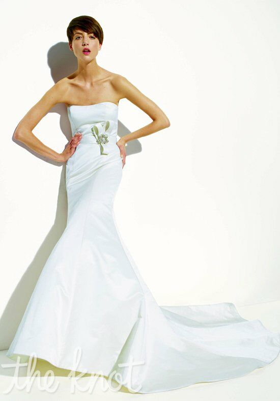 Amsale Nicole Mermaid Wedding Dress