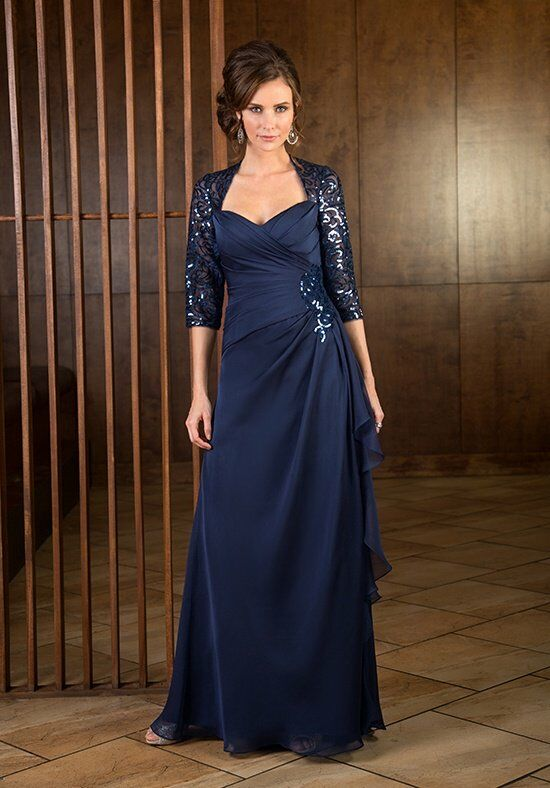 Jade J165063 Blue Mother Of The Bride Dress
