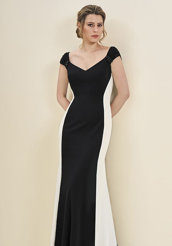 Jade J195054 Black Mother Of The Bride Dress