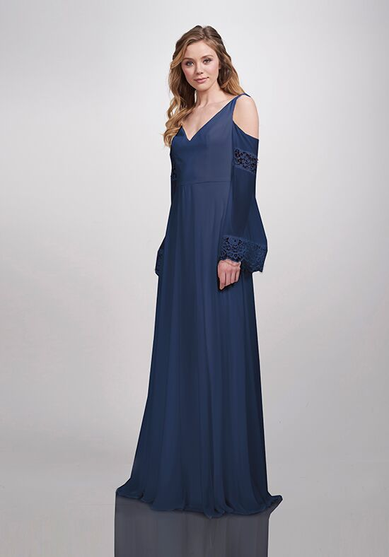 THEIA Bridesmaids Astor Off the Shoulder Bridesmaid Dress