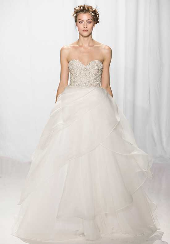 Reem Acra 5662 Ball Gown Wedding Dress