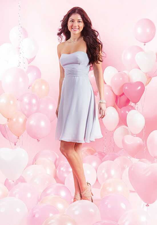 Alfred Angelo Signature Bridesmaids Collection 7386S Neckline Bridesmaid Dress