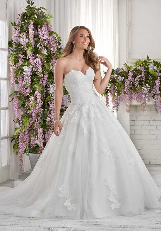 Bonny Bridal 619 A-Line Wedding Dress