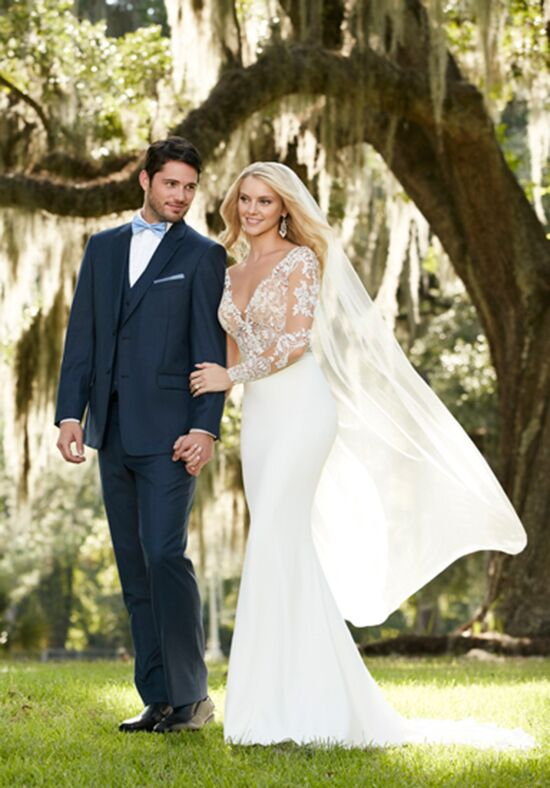 Martina Liana Blake+Sanja Sheath Wedding Dress