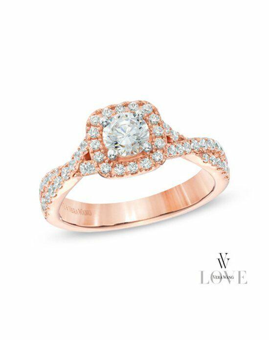 Vera Wang LOVE at Zales Vera Wang LOVE Collection 1 CT T W Diamond Square F