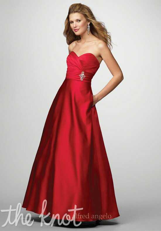 Alfred Angelo Signature Bridesmaids Collection 7166 Bridesmaid Dress photo
