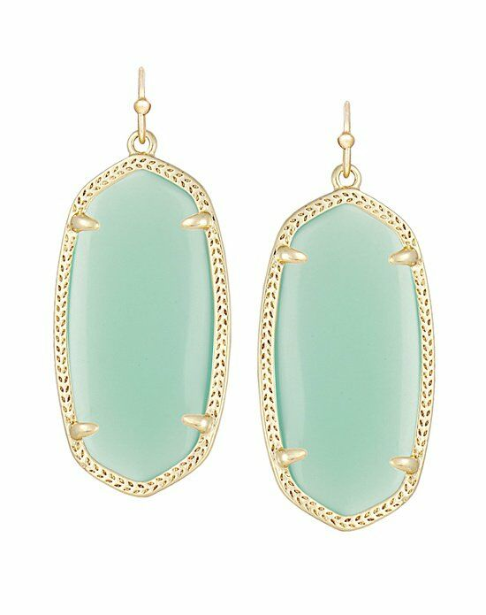 Kendra Scott Elle Earrings in Chalcedony Wedding Earring photo