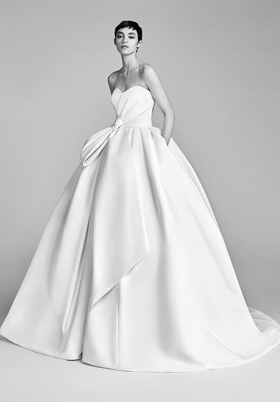 White Satin Wedding Dresses