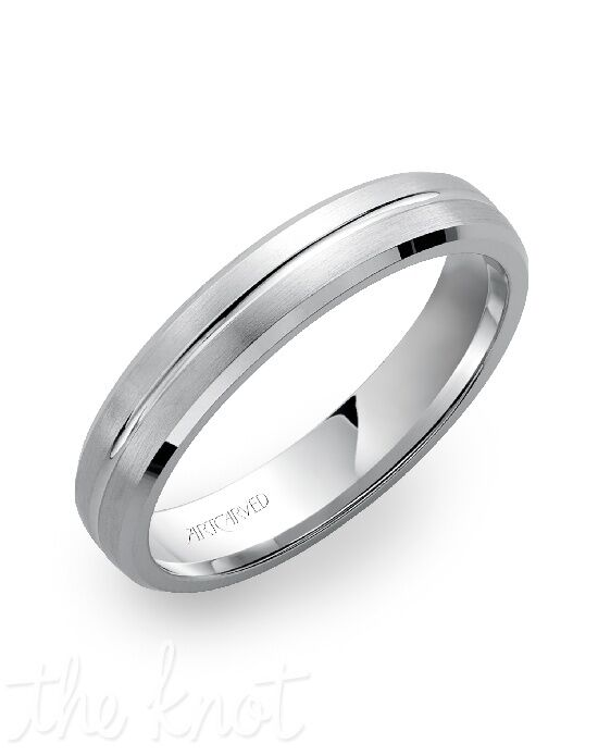 ArtCarved 11-WV7255W8-G White Gold Wedding Ring