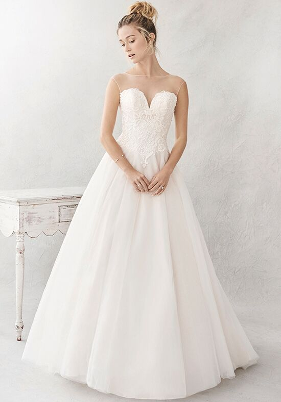 Kenneth Winston: Ella Rosa Collection BE385 Ball Gown Wedding Dress