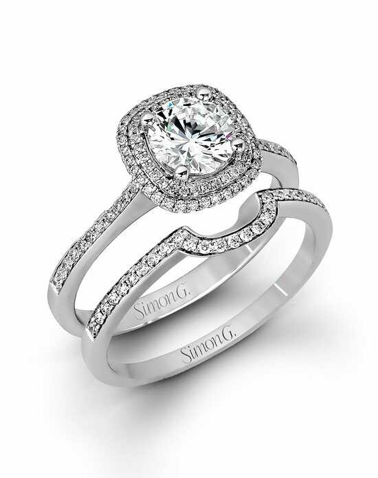 Simon G. Jewelry MR1676-D Engagement Ring photo