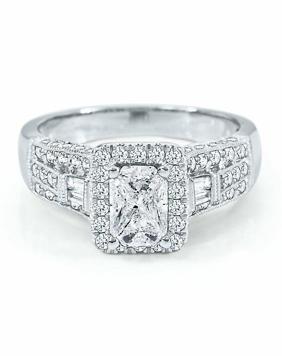 helzberg diamonds cushion cut engagement ring