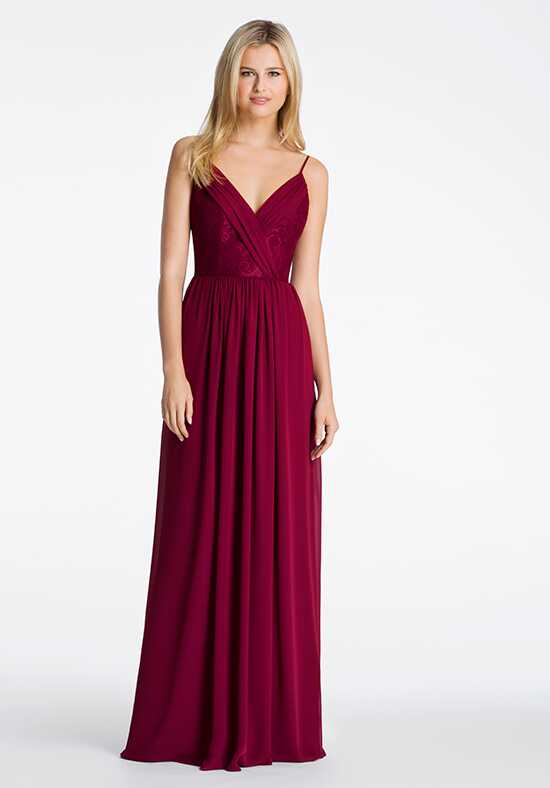 Hayley Paige Occasions 5612 V-Neck Bridesmaid Dress